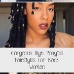 Gorgeous High Ponytail Hairstyles For Black Women - New Site