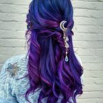 Gradient purple hairstyle - Miladies.net