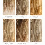 Hair Color 2017/ 2018      Medium Blonde Hair Color Chart #blondehair ❤️ Blo...
