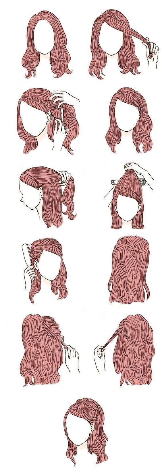 Hairstyle for the school – New Ideas