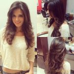 Hairstyles for long hair with layers for round faces - Mary Haircuts