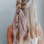 Head Scarf and Bow Hairstyle