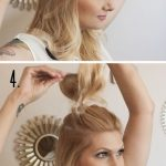 How To Do Hairstyle Trend Half Up Top Knot - Be Modish