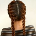 How to Do Double French Braids