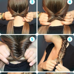How to Make a Fishtail Braid - AllDayChic