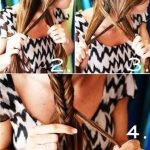 How to do a fishtail braid hair tutorial