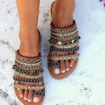 I love these shoes because they are boho and super cute and with a ... - Street Style