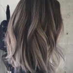 Image result for Gray Ash Brown Hair with Highlights #HairHighlights