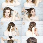Messy Braided Crown for Shorter Hair Tutorial - Wonder Forest