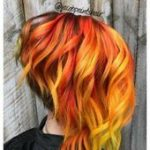 Nägel Ombre Orange Haarfarbe 22 Ideen -  #haarfarbe #ideen #nagel #ombre #orange,  #Haarfarbe...