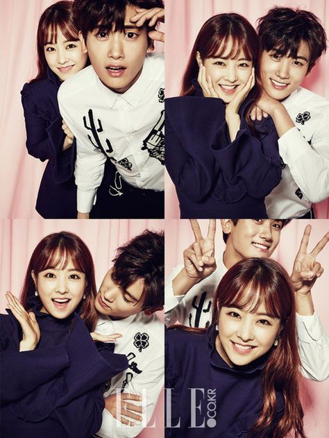 Park Bo Young and Hyungsik are a cute couple in more pictures for 'Elle' www.all…