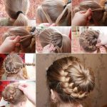 Ponytail as a French braid braid hairstyle ideas for long hair - #braid #french ...