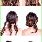 Prom hairstyles 2019 – Fast, easy updos for long hair #flechtfrisuren #tu … - New Site