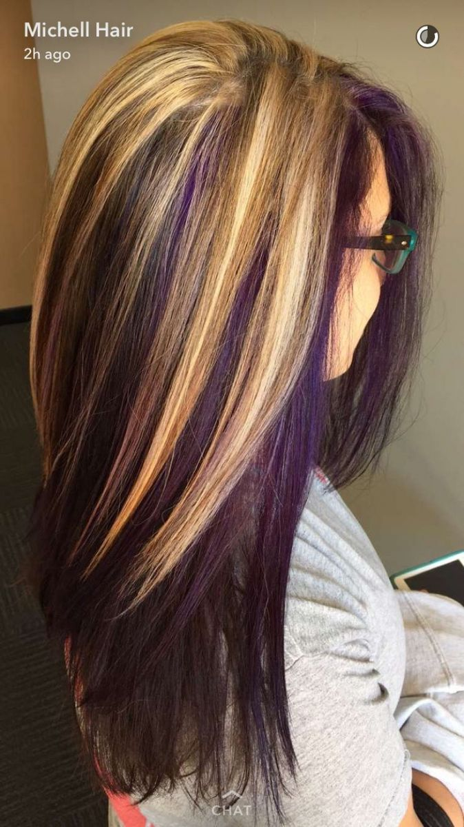 Purple and Blonde Hair Color – Best Off the Shelf Hair Color Check more at frenz…