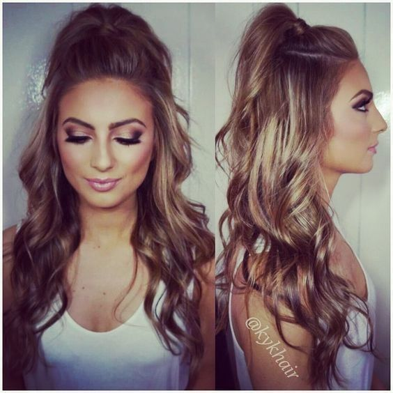 Quick And Easy Half-up Half-down Hairstyles