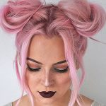 Quick and Easy Space Buns Hairstyle Tutorial | MayaLaMode