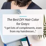"Simple Solution for Coloring Gray Hair: ""I love this...it has saved me bundles o..."