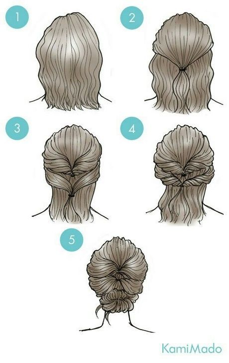 Simple everyday hairstyles for short hair – Mary Haircuts
