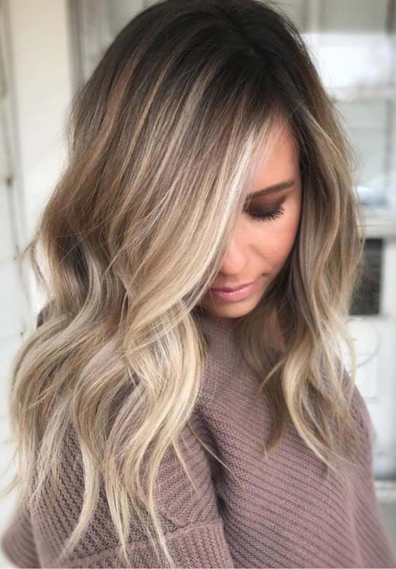 The Balayage highlights should be very close and soft at the root leading to a t… | lifestylezz