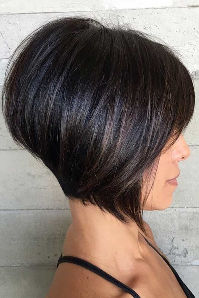 The Drama Queen Wedge #wedgehaircut #haircuts ❤️The wedge haircut is on ever…