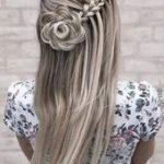 The Most Beautiful 2020 Waterfall Braid Hairstyles - #beautiful #braid #hairstyl...