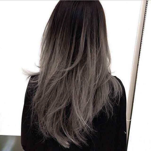 There's a new type of ombre hair and we're pretty obsessed