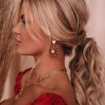 This hairstyle works from day to night office to cocktail party. Leave out a few...