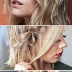Three Strand Braids Into Low Messy Knot ❤️ Check out these easy hairstyles f...
