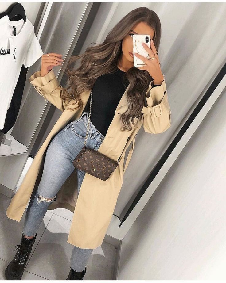 Trenchcoat outfit for spring – Fab