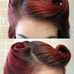 Trendy Frisuren Vintage Pin Up Victory Rolls Tutorial Ideen - #frisuren #ideen #...