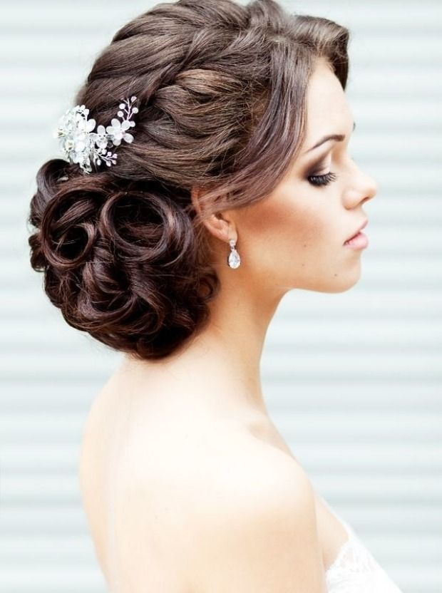 Wedding braid hairstyle: 35 wonderful pictures for the big day! – Women Style Tips