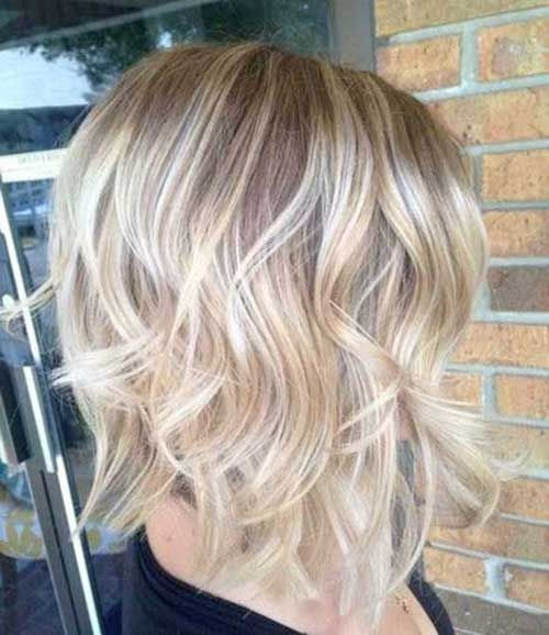 You can create the ideal beachy wave bob at your home | Bob Hairstyles