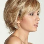chic middle hairstyles with bangs 2 - # hairstyles #with #middle # bangs #schicke - Mary Haircuts