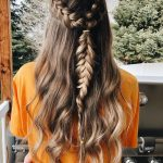 "cute hairstyles💫 on Instagram: ""dutch braids into inside out fishtail :-) k… - TechUve  Photos"