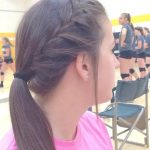fine 30 Best Hairstyles For Volleyball Tips Cute Volleyball Hair In 2019 | Ball Hairstyles, V...