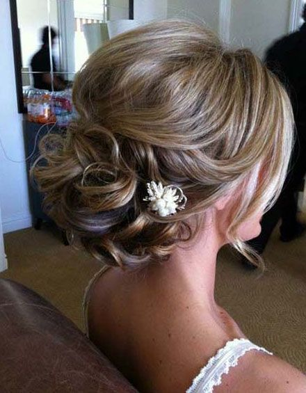 updos for medium length hair with flower – Hairstyles