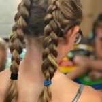 zwei super süße holländische Zöpfe - süße Frisuren #dutchBraided - #dutchb...